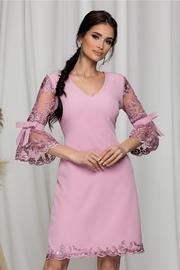 rochii de botez nasa roz