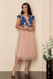 rochii de nasa elegante rosii