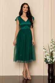 rochii de nasa elegante turcoaz