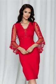 rochii ieftine de nasa rosii